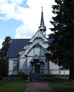 Pulkkila Church 2008 07 01.JPG