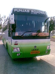 Punbus connects the city to other parts of Punjab