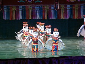 Water puppetry - Dance of the water fairies