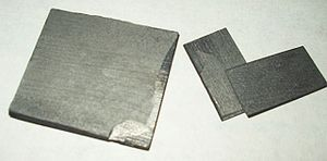 Pyrolytic carbon - Sheets of pyrolytic carbon