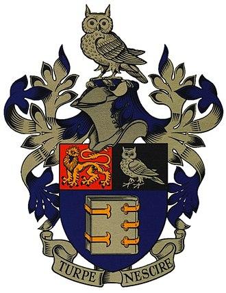 Queen Elizabeth Grammar School, Wakefield - Image: QEGS Coat of Arms