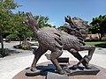 Qilin statue in Pingzhen Xinshi Park.jpg