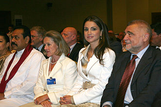 Queen Rania of Jordan - Queen Rania - World Economic Forum on the Middle East held at the Dead Sea, Jordan, in 2007