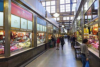 Queen Victoria Market - Daily Product Hall