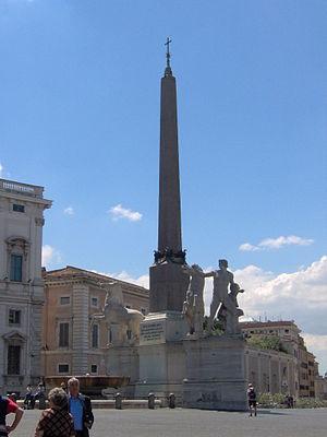 Raffaele Stern - Stern's Fontana dei Dioscuri