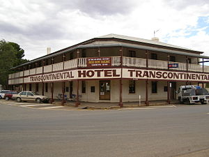 Quorn, South Australia - The Transcontinental Hotel