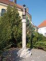 Róbert Károly statue. - Szent Bertalan St., Gyöngyös, Hungary.JPG