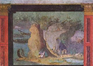 Scène de l'Odyssée
