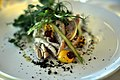 Røget makrel med kartoffelkompot, asparges og rapsmayonnaise (5988301993).jpg