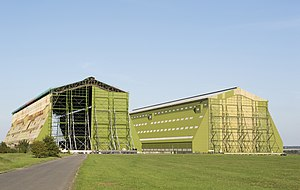 Airship hangar - Hangars of the former Royal Airship Works at Cardington Bedfordshire, England 2013