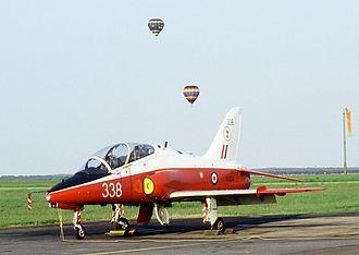 BAE Systems Hawk - T1 Hawk at RAF Mildenhall, Suffolk, 1984