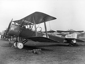 Raymond Collishaw - A Sopwith 1½ Strutter of No.70 Squadron RFC