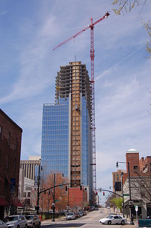 PNC Plaza (Raleigh) - Image: RBC Plaza 20080321