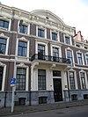 foto van Herenhuis, gebouwd door de aannemer-architecten Bernhard Kuhnel en Johann Diedrich Meiners in eclectische bouwstijl