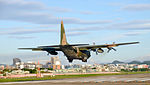 ROCAF C-130H 1307 on Final Approaching at Songshan Air Force Base 20151222c.jpg