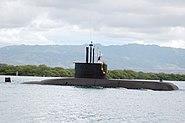 ROKS Lee Sunsin (SS 068) arrives at Naval Station Pearl Harbor