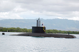 Chang Bogo-class submarine - Image: ROKS Lee Sunsin (SS 068) arrives at Naval Station Pearl Harbor