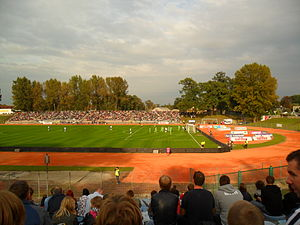 2012–13 UEFA Women's Champions League - Unia Racibórz – Wolfsburg (1–5)