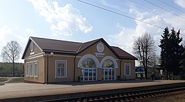 Radaškovičy railway station 1.jpg