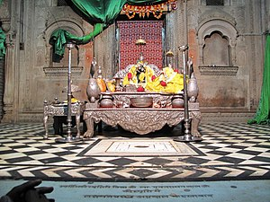 Gopala Bhatta Goswami - Radha Raman Temple, Vrindavan established by Gopala Bhatta Goswami in 1542.