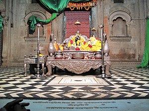 Radha Raman Temple - Deity at Radha Raman Temple, Vrindavan.
