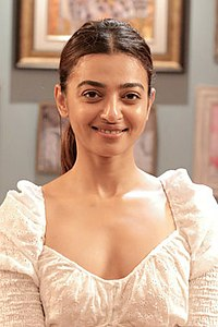 Radhika Apte snapped on the sets of Midnight Misadventures with Mallika Dua (06) (cropped).jpg