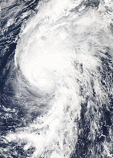 Category 1 Atlantic hurricane in 2012