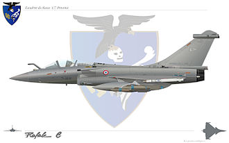 "01.007 Fighter Squadron ""Provence"" - Rafale C Provence squadron"
