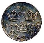 Raha; markka; 2 markkaa - ANT5b-84 (musketti.M012-ANT5b-84 2).jpg
