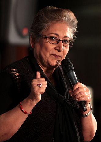 Raheel Raza - Raza speaking in 2014.
