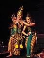 Ramawijaya dan Shinta pada Sendratari Ramayana Prambanan.jpg