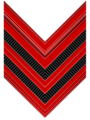 Rank insignia of caporale maggiore of the Italian Army (1940).png