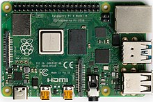 220px Raspberry Pi 4 Model B   Top