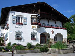 Schliersee - Schliersee Rathouse