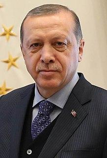 Recep Tayyip Erdoğan 12th President of Turkey from 2014