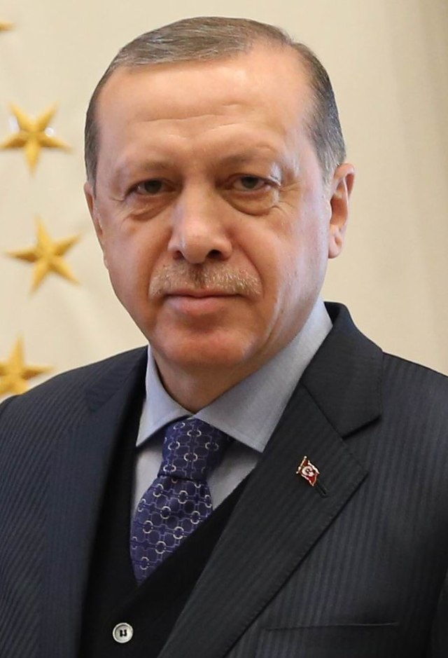 From commons.wikimedia.org: Recep Tayyip Erdogan {MID-341793}
