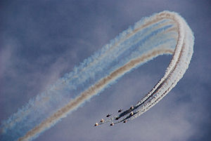 Red Arrows display at Portsmouth in July 2008 14.jpg