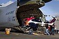 Red Bull Air Race team unload helicopter from C-5 Galaxy at Kaneohe Bay Sep 2010.jpg