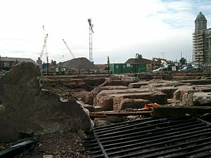 Redevelopment near Canning Dock, Liverpool.JPG