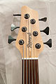Regenerate Malibu series 6 string fretless bass headstock.jpg