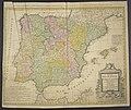 Regnorum Hispaniae et Portugalliae - Tabula generalis ad statum hodiernum in suas Provincias divisa 02.jpg