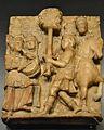 Relleu amb l'apoteosi de David després de véncer a Goliat, museu d'Història de València.JPG