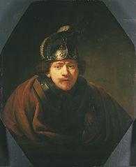 Autoportrait au casque
