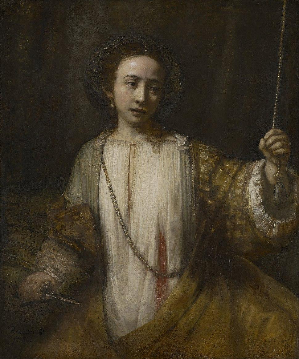 Rembrandt Harmensz. van Rijn - Lucretia - 34.19 - Minneapolis Institute of Arts