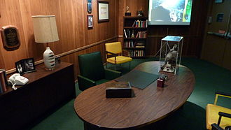 Green Bay Packers Hall of Fame - Replica of Vince Lombardi's office at the Green Bay Packers Hall of Fame.