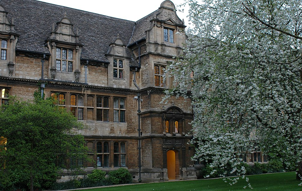 Residential building at trinity college oxford