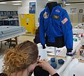 Restoring Sally Ride's Shuttle Flight Jacket (27397282953).jpg