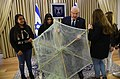 Reuven Rivlin at a meeting with the activists of the Instagram page «Otef.gaza». November 2018 (2481).jpg