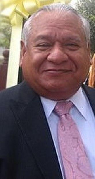 Juan L. Maldonado - Maldonado at the Veterans Day celebration at Laredo Community College in 2008