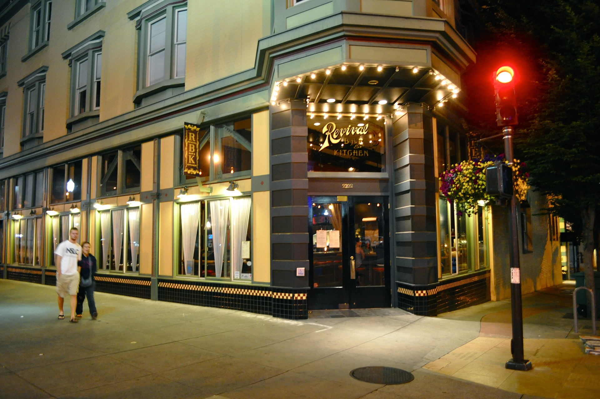 Revival Bar And Kitchen Cocktail Menu